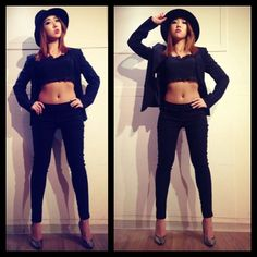 Minzy's MJ inspired outfit#SEXY