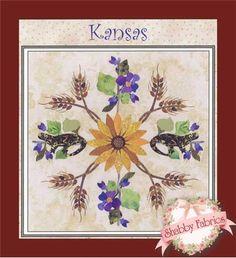 American Album Block - Kansas