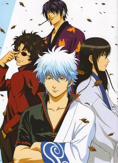 The osananajimitachi (childhood friends) with a painful but beautiful history together. Gintama