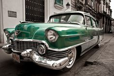 Classic car in Havana. Cadillac, Vintage Cars, Antique Cars, Cuban Cars, Cuba Culture, Classic Cars Usa, Future Car, Car Ins, Old Cars
