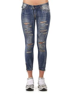 JEANS DESTROYED SKINNI FIT