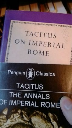 Tacitus in onehungas hard to find