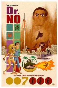 Dr. No Poster by Erich0823.deviantart.com on @deviantART