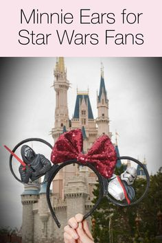 Minnie ears for Star Wars fans! Click above to see more!