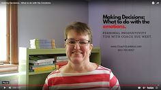 Productivity/ADHD Suggestions - Susan Fay West - YouTube