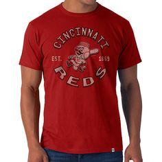 Cincinnati Reds Flanker T-Shirt - MLB.com Shop Cincinnati Reds 4d1c8a33066