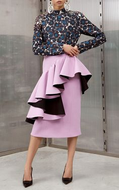 Ruffled Pencil Skirt by Marni | Moda Operandi