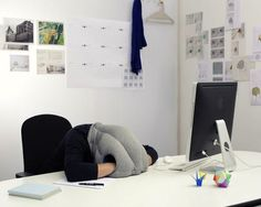 Ugh... my life is *so* missing one of these. | Ostrich private napping pillow