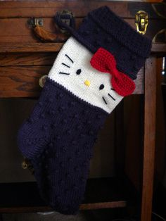 Hello Kitty Christmas Stocking (Purple) for sale.
