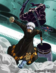 Trafalgar D. Water Law VS Vergo One piece