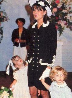 Caroline of Monaco, Charlotte and Pierre Casiraghi                                                                                                                                                      Plus