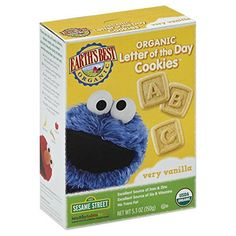 Earth's Best Organic Letter of the Day Cookies, Very Vanilla, 5.3 Ounce (Pack of 6) *** You can get more details by clicking on the image.