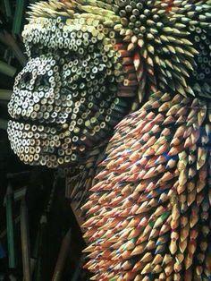 Arte con lápices :)