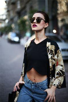 Tina Sizonova: Indie Half Frame Horned Rim Clubmaster Wayfarer Sunglasses 2934