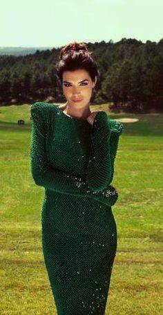 Hatice Şendil - Sedir Magazine Pictorial [Turkey] (2013) Hatice Sendil, Turkish Actors, Famous Women, Celebs, Celebrities, Dress Outfits, Dresses, Red Carpet, Beautiful Women