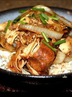 Soy Balsamic Slow Cooker Chicken.