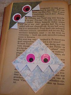 monster boekenleggers :)
