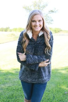 Snuggly Sherpa Pullover