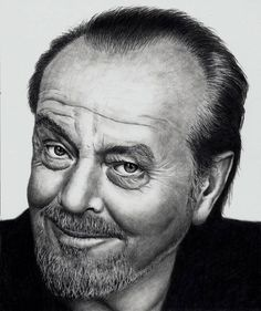 Jack Nicholson - Commissoned by Doctor-Pencil.deviantart.com on @DeviantArt