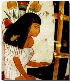 """(""""WOMEN IN ANCIENT EGYPTIAN ART"""") FACSIMILE SERIES ANCIENT EGYPTIAN TOMB…"""