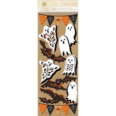 Anna Griffin Bat Tastic Halloween Scrapbook Stickers Ghosts Bats Embellishments   eBay