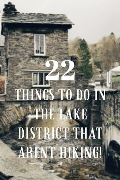 22 things to do in the Lake District for first timers that don't involve long walks or climbing mountains, including Keswick, Ambleside and Buttermere. Oh The Places You'll Go, Places To Travel, Places To Visit, Vacation Places, Vacation Ideas, Stuff To Do, Things To Do, Northern England, Reisen In Europa