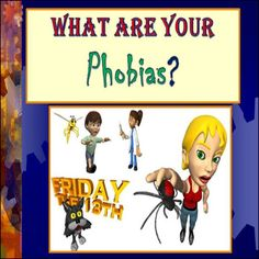 This Phobias lesson is one of my golden oldies for my 7th Grade Social Studies class when we study fear in our Psychology Unit. Included is a PPT where students take part in a phobia activity and try to guess 10 unique phobias by their scientific name and images. The extension is to create an illustration that represents a unique phobia by it's scientific name (printables included).   Follow me on Facebook at https://www.facebook.com/survivingsocialstudies