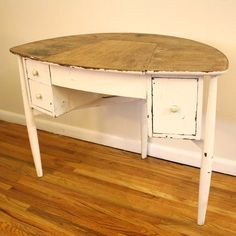 Shabby Chic Vanity Table  by Picked Vintage