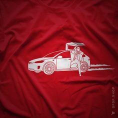 Marty X #BackToTheFuture #Tesla #ModelX #Marty #McFly