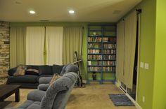 Turning Stones Blog: Building a DVD shelf system