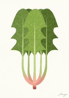 ...Spinach Art Print