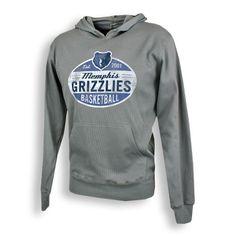 Memphis Grizzlies Sportiqe Belgian Unleaded Hoody - Grey