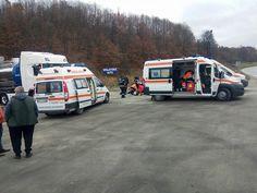 Trei persoane decedate la spălătoria auto de pe DN 6, lângă Cornea [UPDATE]