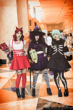 Lock, Shock, and Barrel (Nightmare Before Christmas) / Holiday Matsuri 2016 / DTJAAAAM