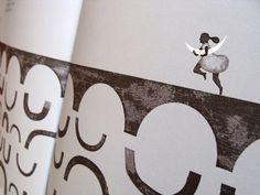 Nocturno : Isidro Ferrer  Texto de Rafael Alberti 24 páginas. Color. 120 x 260 México, Taller de Comunicación Gráfica, Conaculta, 2012