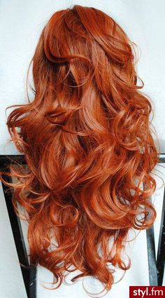 "No this isn't ""MyStyle"" but ive always LOVED long red hair.... so pretty! Just had to pin."