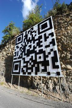 Un QR per promuovere la fiera della scienza 2012 à Digne-les-Bains
