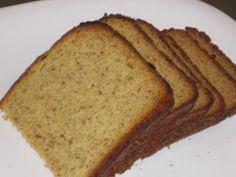 Coconut Flax Bread  1/2 cup coconut flour, sifted  1/2 cup flax seed, ground  1 /2 teaspoon salt  1 teaspoon baking soda  4 eggs  1/4 coconut oil  1/8 cup water  1 teaspoon apple cider vinegar