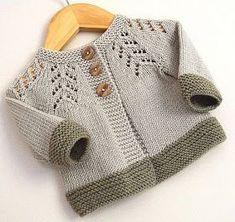 Baby Sweater Patterns, Baby Cardigan Knitting Pattern, Knit Baby Sweaters, Baby Knitting Patterns, Knit Vest, Sewing Stitches, Crochet Baby, Knit Crochet, Crochet Pattern