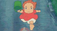 Ponyo | Miyazaki | Studio Ghibli | (gif)