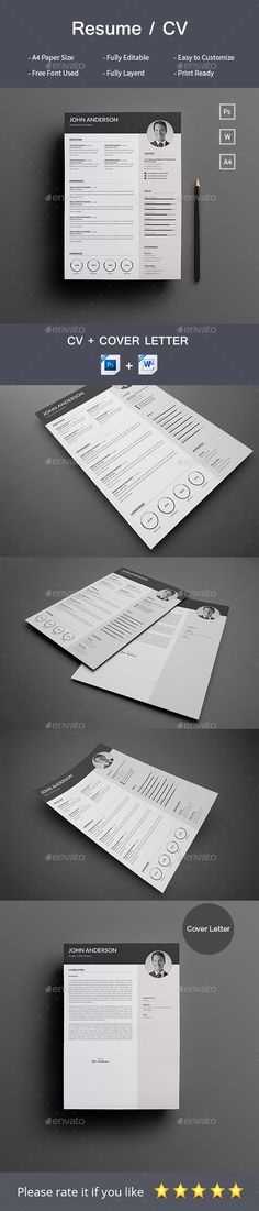 Cover Letter Sign Off Inspiration 20% Off All Resume Templates  Resume Template  Resume Builder  Cv .
