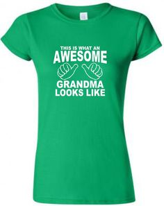 Mothers Day Gift for Grandma TShirt Shirt by Designs2Express, $14.99