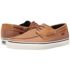 19f2841194 Vans Chauffeur SF ((C L) Light Brown Jungle) Men s Shoes ( 57) ❤ liked on  Polyvore featuring men s fashion