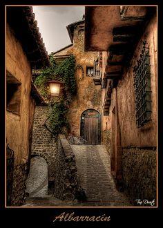 Medieval village of Albarracin, Teruel - Spain