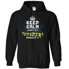 Keep Calm and Let TIJERINA Handle It - #tee pattern #hoodie for teens. BUY NOW => https://www.sunfrog.com/Automotive/Keep-Calm-and-Let-TIJERINA-Handle-It-wukwmhexfg-Black-30147618-Hoodie.html?68278