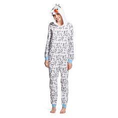 Disney Frozen - Women's Olaf PJ Sleep Onesie