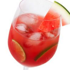 Fresh Watermelon Sangria Recipe