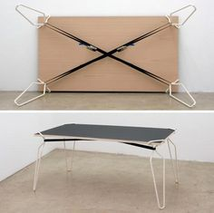 DIY Table Crutches: Transform Flat Surfaces into Tables