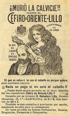 Cure for baldness Vintage Ephemera, Vintage Ads, Vintage Images, Vintage Posters, Old Advertisements, Advertising, Vintage Robots, Vintage Medical, Retro Pop