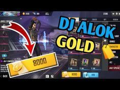 Dj Alok Gold Me Kaise Le How To Get Dj Alok In Gold Free Fire Youtube In 2020 Diamond Free Download Hacks How To Get
